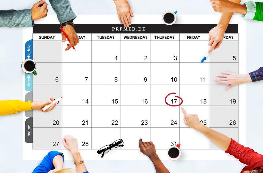 PRP Terminkalender
